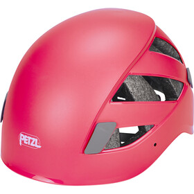 Petzl Boreo Casco de escalada, raspberry red